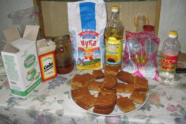 Овсяное печенье на меду