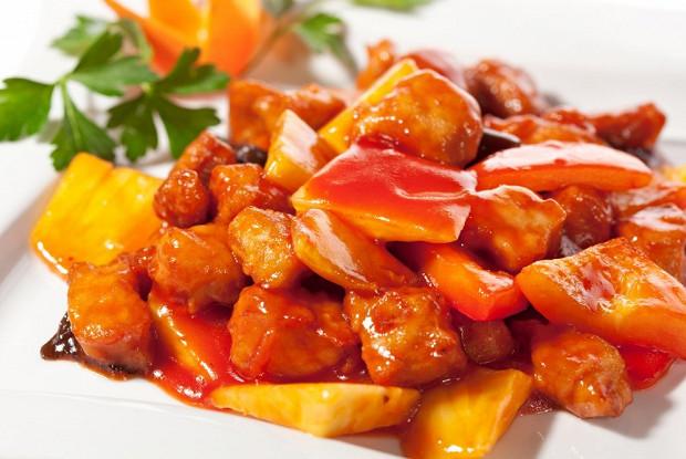 Габаджоу (свинина в кисло-сладком соусе)