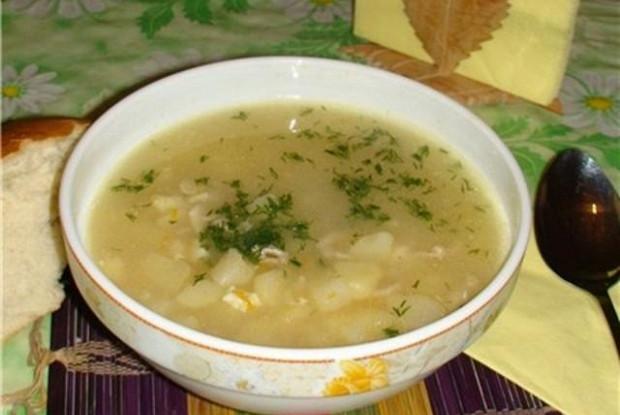 Суп на молоке