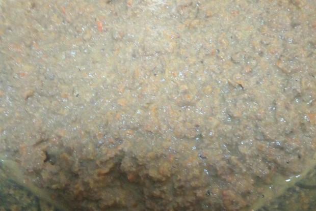 Паштет из говяжьей печени с морковью и луком