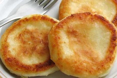 Сырники с курагой и грецкими орехами