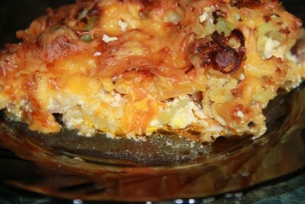 Запеканка с цветной капустой и сыром