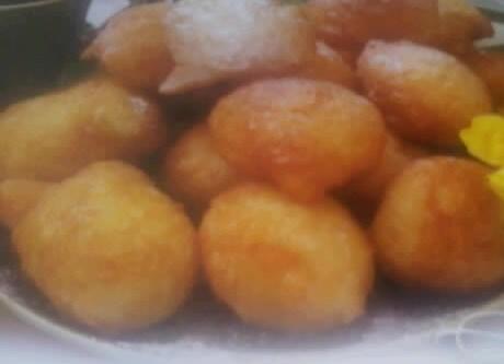 Пончики творожные со сметаной