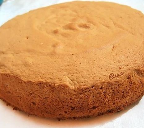 Бисквит из киселя