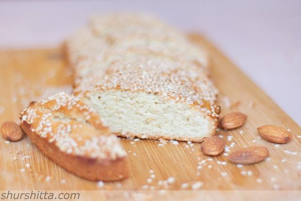 Миндальные бисквиты с анисом и кунжутом