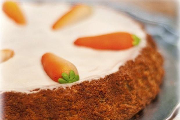 Творожно-морковный кекс