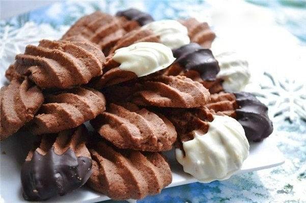 Печенье «Кошачьи лапки» с шоколадом