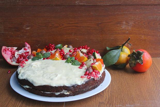 Морковный торт с рикоттой