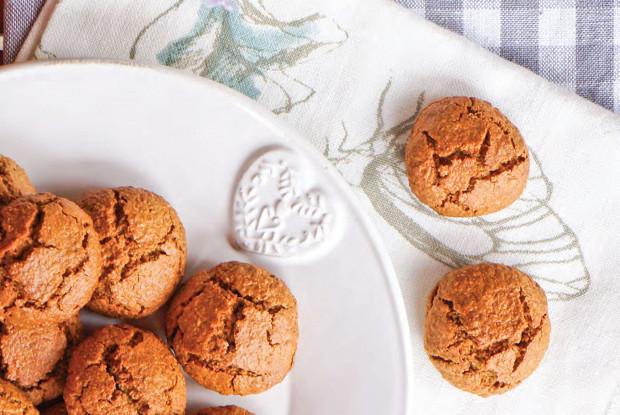 Гречневое печенье с имбирем и кокосовым маслом