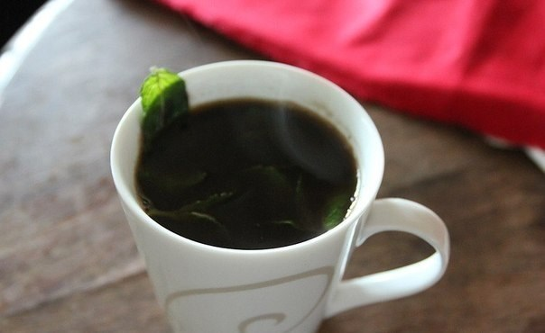 Ванильно-мятный кофе