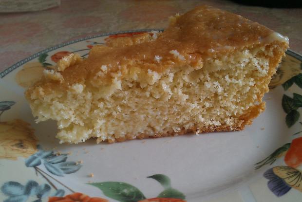 Воздушный бисквитный пирог