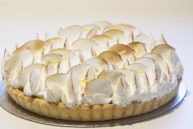 Лимонный торт (Tarte au Citron)