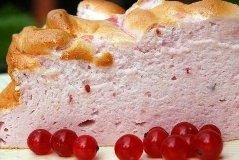 Запеченное ягодно-белковое облако