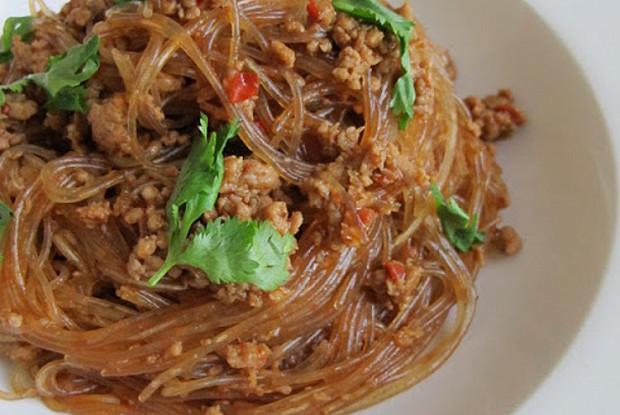 Ма йи шанг шу (стеклянная лапша с мясом)