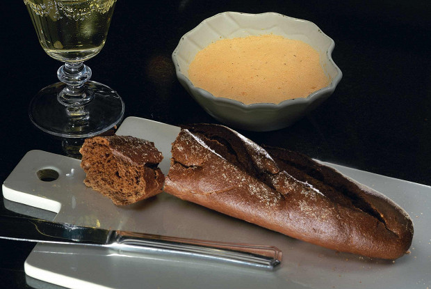 Рыбный паштет с имбирем