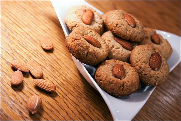 Овсяное печенье без корицы