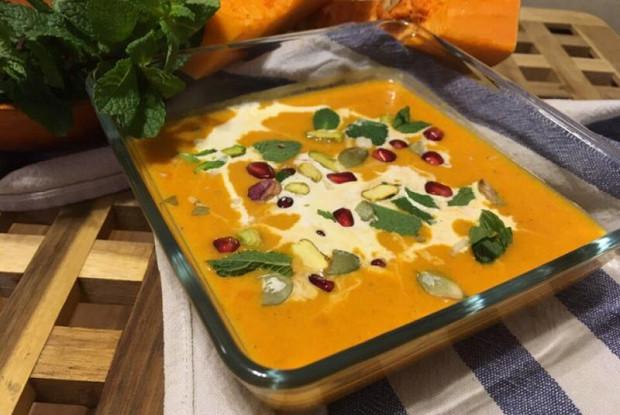 Марокканский тыквенный суп