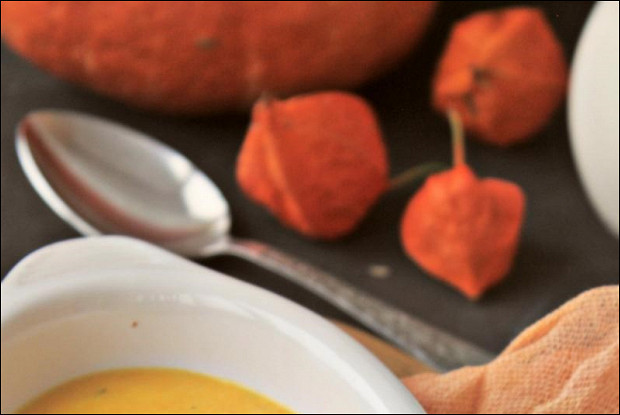 Тыквенно-сливочный крем-суп с сыром