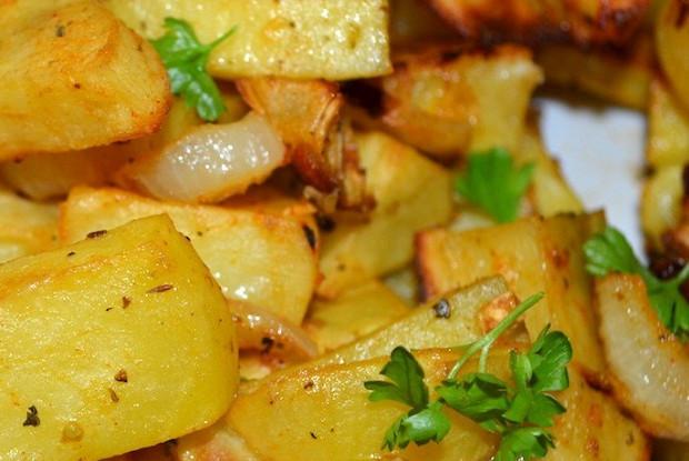 Запеченный картофель по-итальянски