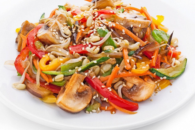 Ясай теппан (Жареные овощи)