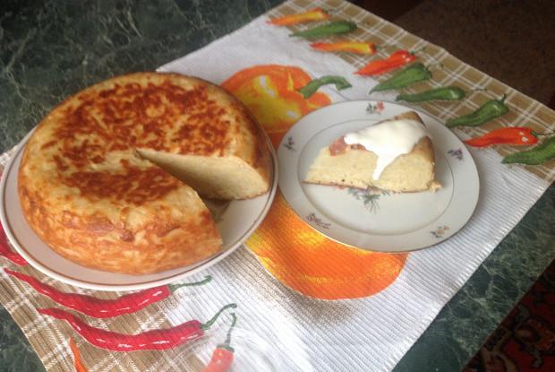 Пирог картофельный в мультиварке