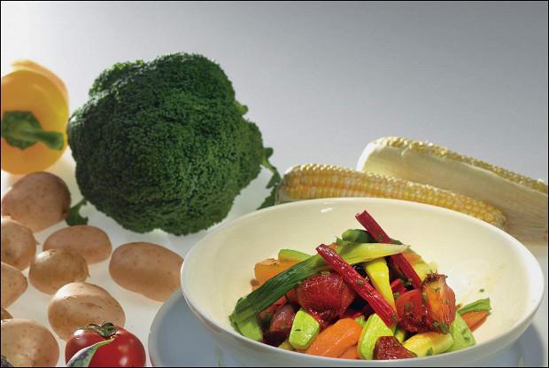 Карамелизованные овощи
