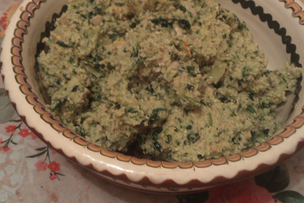 Сырой хумус из семечек