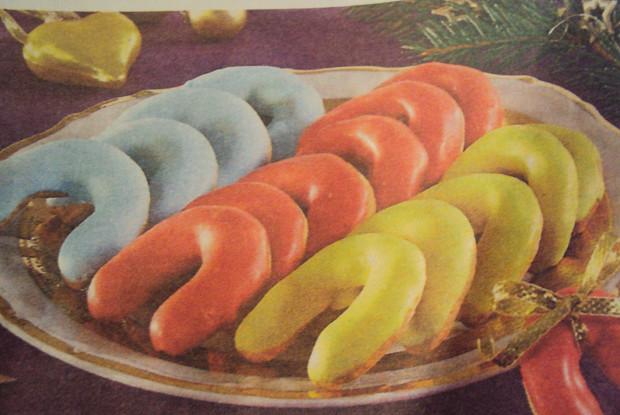 Печенье «Подкова» в глазури