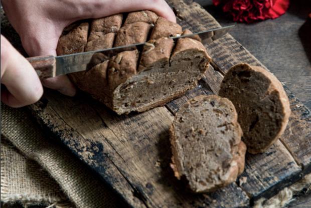 Веганский ржаной хлеб без глютена