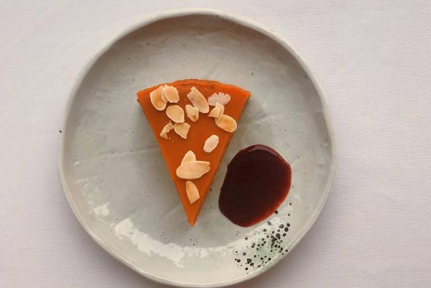 Морковный торт с фундуком