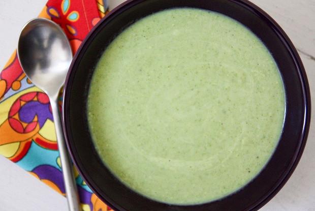 Быстрый суп из брокколи