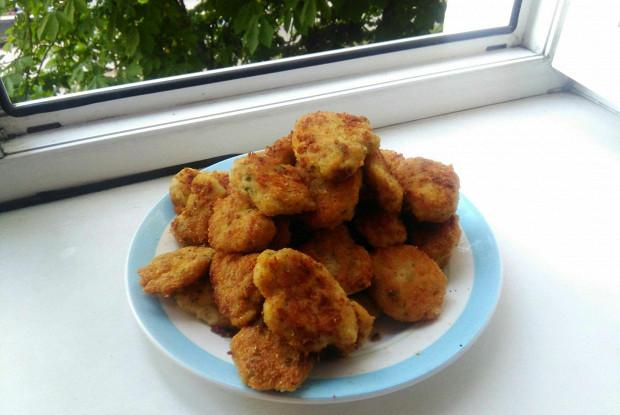 Куриные нагетсы с сыром