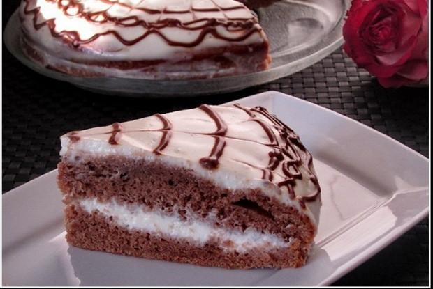 Бисквитные сметанные коржи для тортов