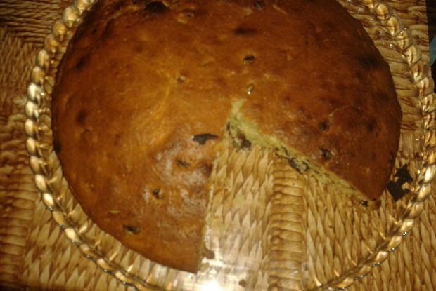 Английский кекс с изюмом