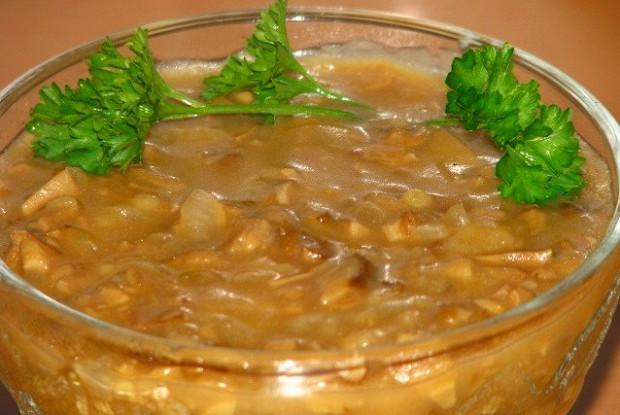 Соус из сухих грибов