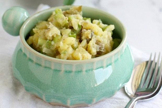 Картофельный салат без майонеза