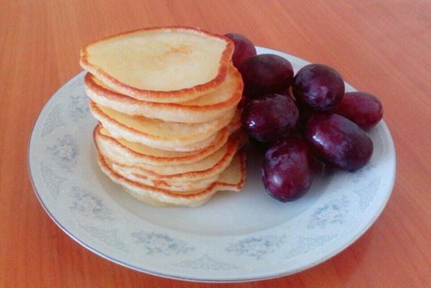 Пышные оладьи к завтраку