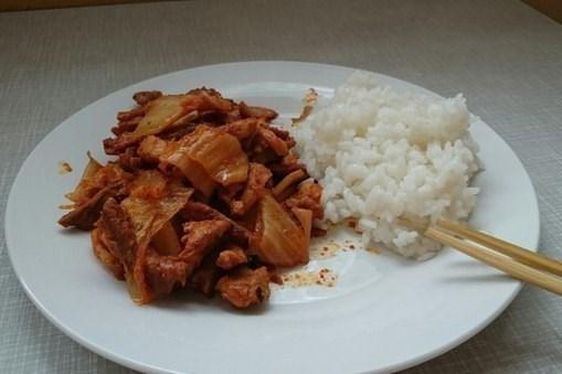 Ким-ча со свининой