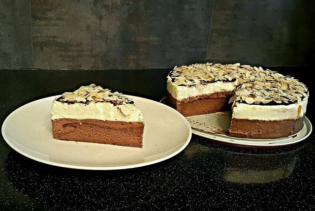 Торт-мусс «Три шоколада»