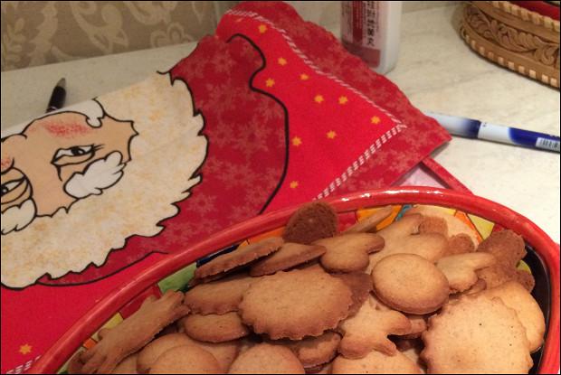 Новогоднее имбирное печенье с мускатным орехом