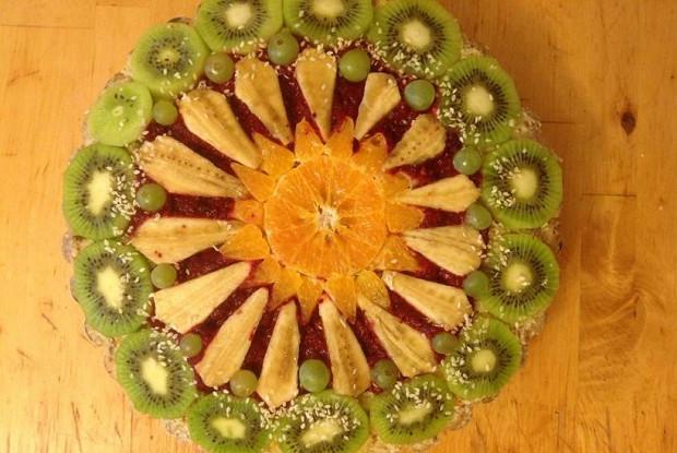 Торт фруктово-ореховый