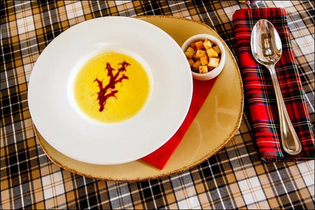 Суп-крем из кукурузы
