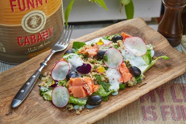 Летний салат с неркой от Funny Cabany