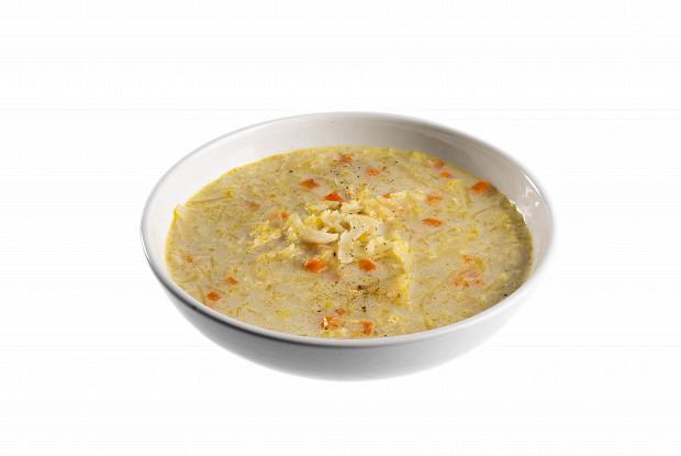 Суп из белокочанной и цветной капусты