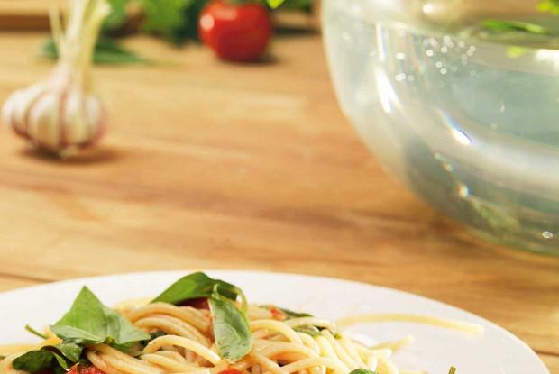 Спагетти аль крудо