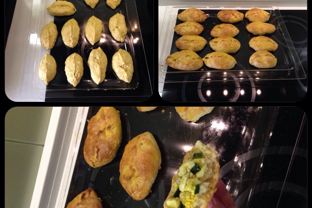 Дрожжевые пирожки в духовке