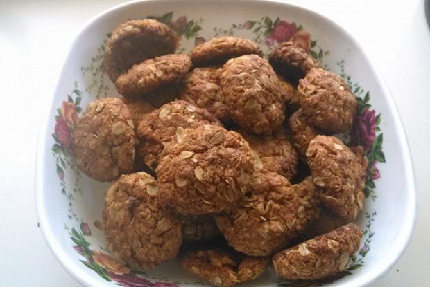 Традиционное австралийское печенье энзак (Anzac biscuits)