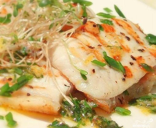 Белая рыба по-тайски