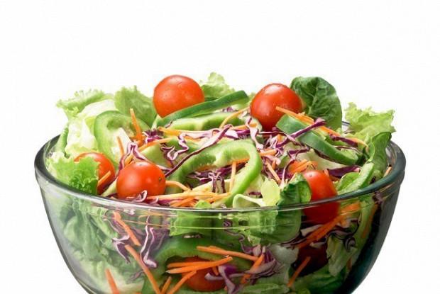Овощной салат с горчичной заправкой