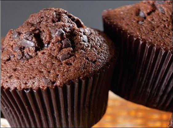 Легкие шоколадные маффины